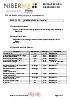 Ficha técnica de producto: Niberma Flex 251/T 4,4MM