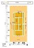 Nb-plano tenis - el campo de juego