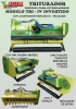 Trituradores modelo TRI-IV invertido, especial para invernaderos