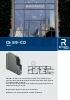 Catálogo de sistemas para puertas de aluminio (modelo CS 59-CD)