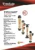 Medidores de caudal de tubo de plástico Serie PT/PS Tecfluid