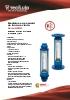 Medidores de caudal de tubo de vidrio Serie 6000 Tecfluid