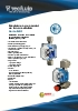 Medidores de caudal de tubo metálico Serie M21 Tecfluid