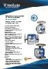 Medidores de caudal de tubo metálico Serie SC250 Tecfluid