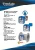 Medidores de caudal de disco de choque Serie DP Tecfluid