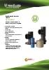 Indicadores de nivel mediante sistema de poleas y contrapeso para líquidos Serie NPC Tecfluid