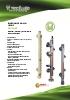 Indicador, detector y transmisor de nivel para líquidos Serie LT Tecfluid