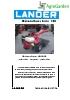 Motocultores serie 100-120-150 de Lander