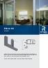 Catálogo de sistemas para correderas de aluminio (modelo Esfera 60)