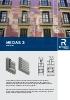 Catálogo de sistemas para mallorquinas de aluminio (modelo Medas 3)