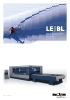 Corte por láser, serie BL con fibra óptica