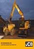 Excavadora de ruedas JS175W JCB