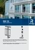 Catálogo de sistemas complementarios para barandillas (modelo RB 10)