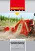Trituradoras de piedras y fresadoras del suelo