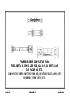 Catálogo general de cardan para vehículos ligeros, turismos, furgonetas, 4x4, carretillas elevadoras.