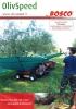 Paraguas recolector para frutos colgantes Bosco Olivspeed 4x4