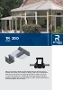 Catálogo de sistemas para verandas (modelo TR 200)