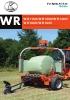 Encintadoras de pacas Kubota WR1100/WR1250/WR1400/ WR1600/WR1850