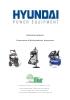 HYUNDAI (Aspiradores-Hidrolimpìadoras-Compresores)