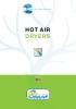 Secadores de aire caliente New Omap