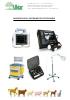 Ecógrafos y detectores de preñez para veterinaria
