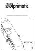Instrucciones y advertencias para el instalador Aalzo 55