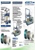 Máquinas flejadoras para la industria del cartón ondulado