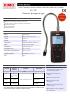 FG 110 Detector de fugas de gas