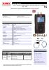 MP 130 Manómetro para estanqueidad de redes de gas