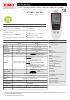 Registradores Kistock para HVAC KT 120 / KH 120 Humedad / Temperatura