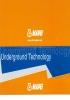 Tríptico UTT - Productos para construcción subterránea
