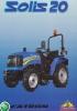 Tractor Solis 20 (4WD) Motor Mitsubishi MVL 3E Engine 20 CV