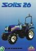 Tractor Solis 26 (4WD) Motor Mitsubishi S3L2, 26 CV