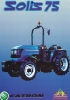 Tractor Solis 75 Motor Sonalika Make 4100ELT 75 CV