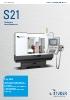 STUDER S21 – la grande para piezas pequeñas.