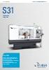 STUDER S31 – la versátil para tareas de gran envergadura.