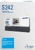 STUDER S242 – flexibilidad para sus operaciones de rectificado y torneado.
