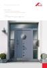 Roto Door La completa gama de componentes para unas puertas permanentemente herméticas