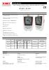 Registradores Kistock KP 320 / KP 321 Presión diferencial