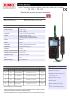 TK 110 – TK 112 Termómetro para sondas termopar