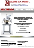 Prensa de termoinpresión NAV-BOL3