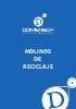 Catálogo molinos para reciclaje de plásticos