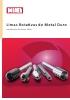 Dormer - Limas Rotativas de Metal Duro