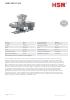 Prensas universales de reciclaje HSM URP-S 500
