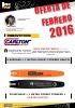 Oferta de espadas para procesadora de la marca CARLTON e IGGESUND