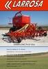 Sembradora neumática Larrosa de siembra directa de reja