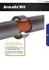 Armafix NH. Los soportes aislados con NH/Armaflex para tuberías libre de halógenos