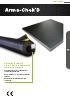 Arma-Chek D. Aislamiento flexible prerecubierto con excelente resistencia mecánica