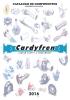 Catálogo componentes 2016