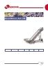 NE-400 cinta elevadora de uva ancho banda 400mm